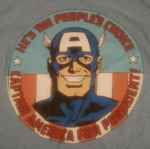 Captain America shirt size small